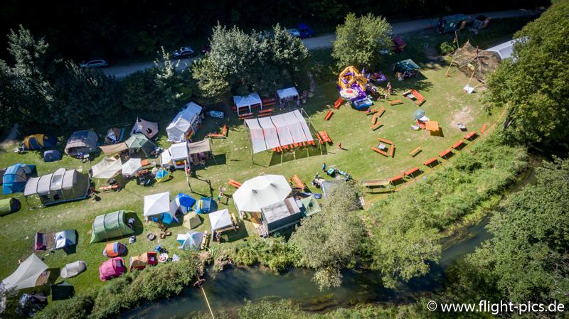 Luftbild Reggae Camp