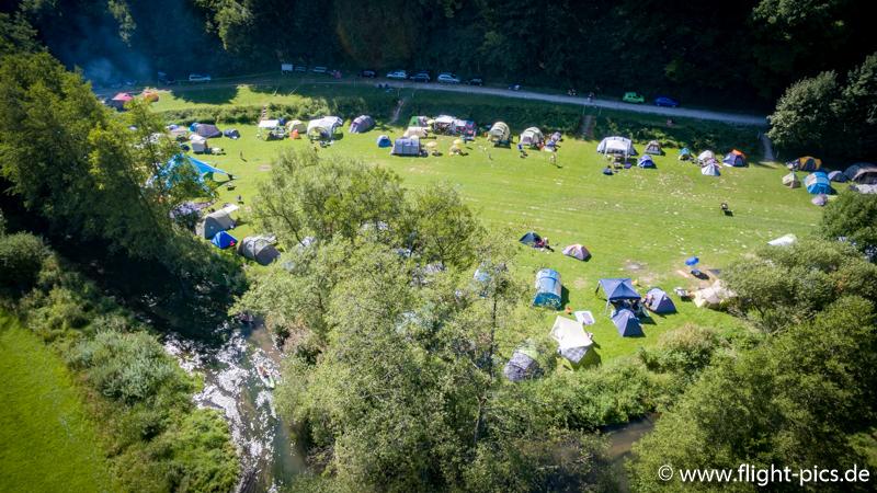 Genug Platz und Privatsphäre für alle Campinggäste!